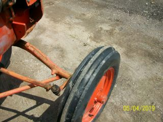 Allis Chalmers B Antique Tractor farmall oliver deere a b g h d wd 45 10