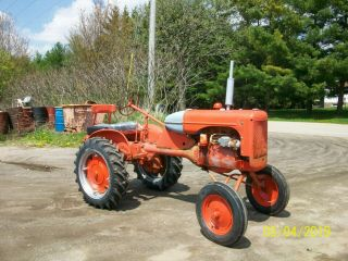 Allis Chalmers B Antique Tractor farmall oliver deere a b g h d wd 45 2