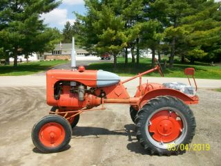Allis Chalmers B Antique Tractor farmall oliver deere a b g h d wd 45 3