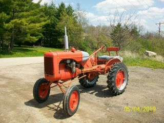 Allis Chalmers B Antique Tractor farmall oliver deere a b g h d wd 45 5