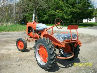 Allis Chalmers B Antique Tractor farmall oliver deere a b g h d wd 45 6