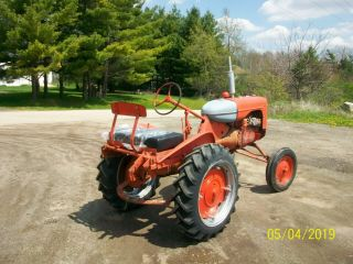 Allis Chalmers B Antique Tractor farmall oliver deere a b g h d wd 45 7