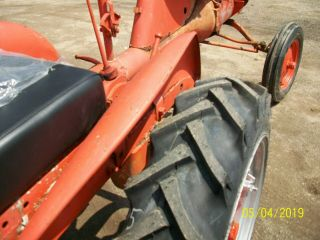 Allis Chalmers B Antique Tractor farmall oliver deere a b g h d wd 45 8