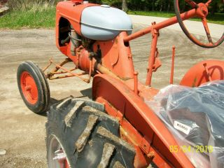 Allis Chalmers B Antique Tractor farmall oliver deere a b g h d wd 45 9