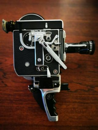 Vintage Bolex Paillard H16 Reflex 16mm Film Movie Camera Great
