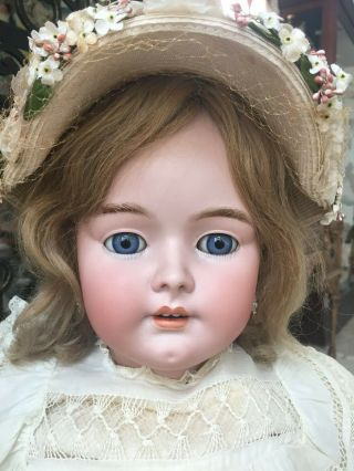 Rare Large 35 Tall Simon Halbig Handwerck 79 Antique German Doll