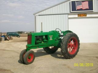 1937 Oliver 70 Antique Tractor Farmall Deere Allis Hart Parr 77 88 99