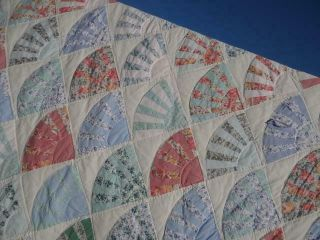 Elegance In The Country Vintage Classic Treasure Fancy Grandmother Fans Quilt