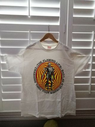 Rare Vintage Flaming Lips T Shirt Xl 1990.  Never Worn