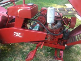 Vintage Antique 1962 Wheel Horse Garden Tractor Model 702 5