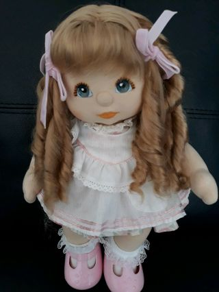 My Child Doll Strawberry Blonde Ringlet