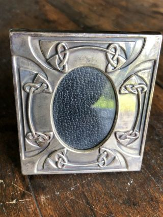 Rare Liberty & Co.  London Sterling Silver Art Nouveau Crafts Picture Frame