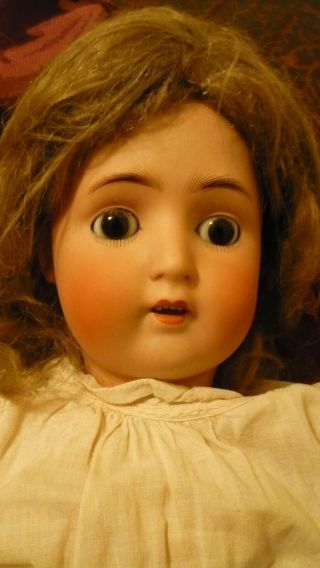 "24 "" Antique Doll German A B G"