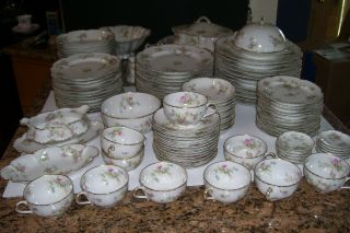 Set Of Antique Haviland France - Haviland & Co.  Limoges China - 116pcs.