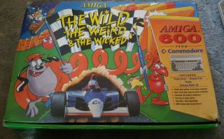"Rare Vintage "" The Wild,  The Weird And The Wicked "" Commodore Amiga 600 Nmib"
