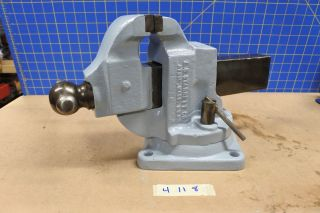Vintage Starrett Machinist Bench Vise