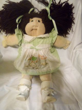 1979 Xavier Roberts Hand Signed Little People Soft Sculpture Cabbage Patch Doll