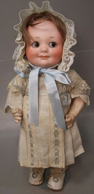 All Armand Marseille 11 In Googly Mold 323 Antique German Bisque Doll