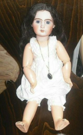 Bebe Jumeau Antique Doll French Bisque 19 1/2