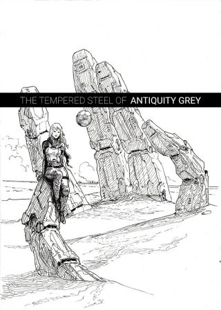 A Signed Galley Of The Tempered Steel Of Antiquity Grey By Shawn Speakman