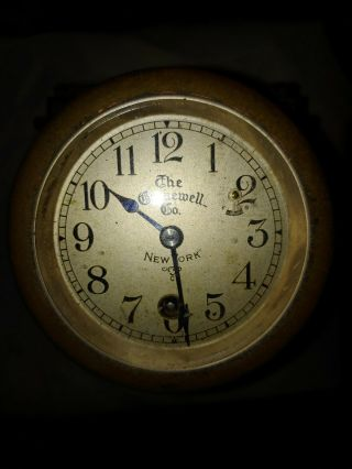 Antique Gamewell Fire Alarm Time Stamp Register - Rare