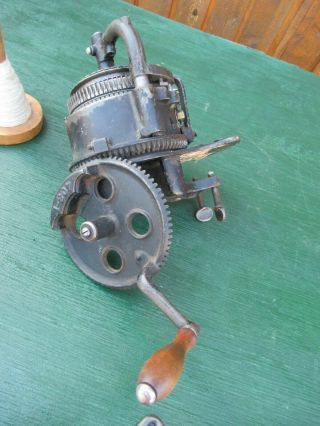ANTIQUE LEGARE 400 AUTO CSM KNITTER MACHINE Cylinder 72,  Ribber 36 11