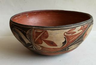 10 In Antique Hopi Decorated Pot,  Native American Pottery