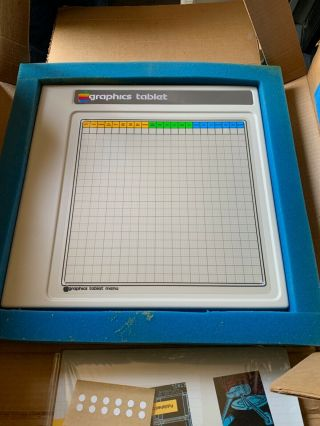 Apple Graphics Tablet Vintage For Apple Ii