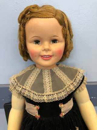 Vintage Ideal Shirley Temple Playpal Doll St 35 - 38 - 2