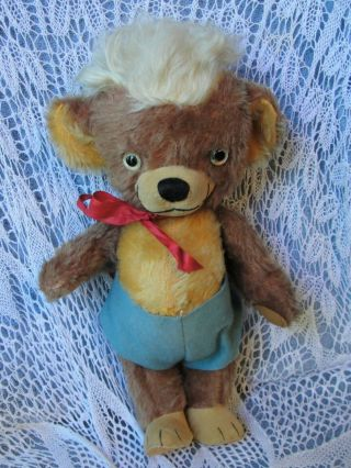 Vintage Merrythought Punkinhead Teddy Bear Cheeky Friend Eatons