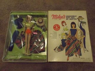 Vintage Barbie/sears Exclusive 1012 Midge