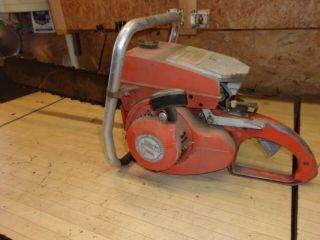 Vintage Wright C70 Chainsaw - Large - Complete - Project