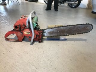 Barn Find Rare Vintage Chainsaw Homelite 4 - 20