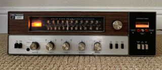 The Fisher 450 - T Stereo Receiver Vintage Solid State Amplifier 450 Phono Preamp