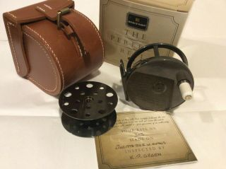 "Hardy Perfect Fly Reel,  Limited Edition All Brass,  3"" Diameter"