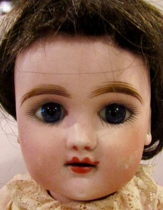 "Antique 16 "" French Eden Bebe Doll By Fleishmann & Bloedel,  Perfect Bisque"