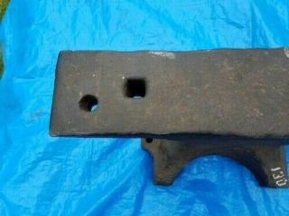 Antique Anvil 130 LB.  Fisher 1907 4