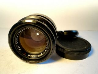 M42 Carl Zeiss Jena Biotar Red T 1:2/ 5,  8 Cm Top Vintage Lens 2.  0 58mm