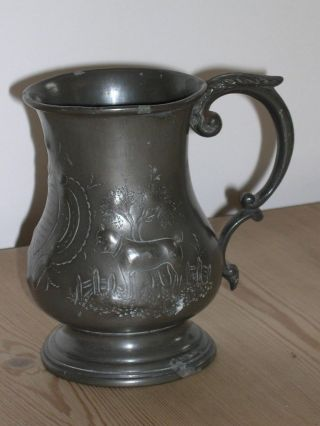 Very Rare Large Antique Bulldog / Bull Terrier Dog Show Trophy 1863 Cremorne