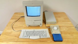 Vintage Apple Macintosh Color Classic & Accessories Great