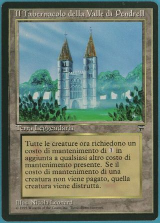 The Tabernacle At Pendrell Vale Legends (italian) Spld Card (id 52108) Abugames