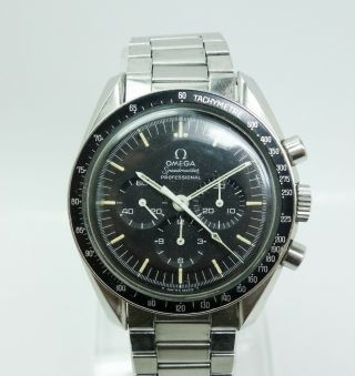 Rare Vintage Omega Speed Master Professional 1st Watch Worn On Moon 1st Version