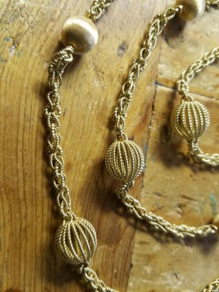 Vintage Buccellati 18k Gold Necklace 112 Grams 45 inches long 3