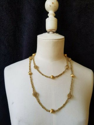 Vintage Buccellati 18k Gold Necklace 112 Grams 45 inches long 6