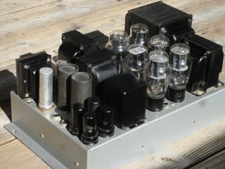 Vintage Brook 2a3 Tube Amplifier From Capehart Radio Consol