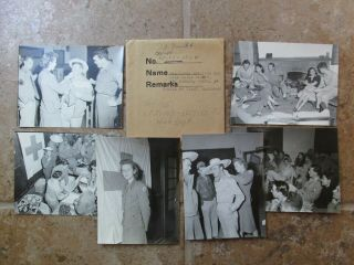 6 Wwii Us Army Cbi China Nationalist Kmt Red Cross Leisure Activity Photos