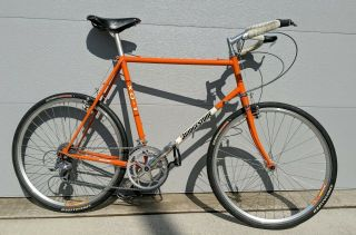 1993 Bridgestone Xo - 1,  Vintage Touring - Rivendell Grant Peterson,  Pumpkin Orange