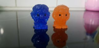 Ultra Rare Blue Glitter Mufasa And Sunset Simba - Lion King Woolworths Ooshies