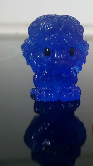 ULTRA RARE BLUE GLITTER MUFASA and SUNSET SIMBA - LION KING Woolworths OOSHIES 2