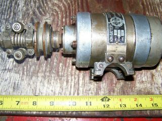 Old ABG Belt Driven 6V Generator Antique Motorcycle Harley Indian Pope Thor 11